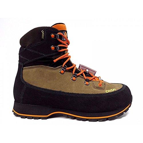 Azelnut Scuro nero Arancione Caccia Goretex Crispi marrone Cf4951 Uomo Beige Trekking Scarponi Lapponia Gtx Evo R4B7WT