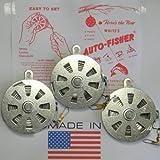 3 White's Auto Fisher Yo Yo Automatic Fishing Reel - Package of 3 YoYos - Yo Yo Fish Trap