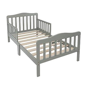 Wooden Toddler Bed Frame.Amazon Com Ssline Wooden Toddler Bed Frame Kids Bed Frame