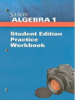 Saxon algebra teacher edition saxon publications 9781602773028 saxon algebra 1 student practice workbook fandeluxe Choice Image