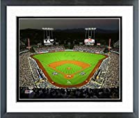 "Los Angeles Dodgers Dodger Stadium Game 1 2017 MLB World Series Photo (Size: 12.5"" x 15.5"") Framed"