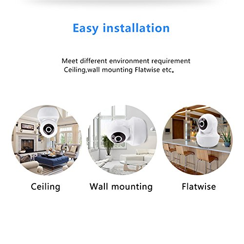 Wireless WiFi Camera, 1080P HD Wireless Night Vision Camera, Pet Monitoring Baby Camera, Built-in 32G Memory Card,Cloud Service, Remote Detect for iOS/Android