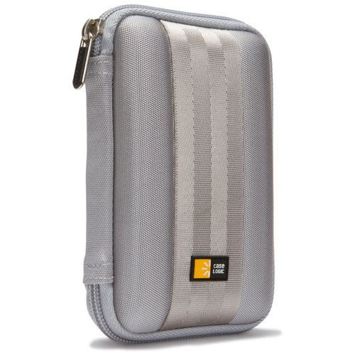Case Logic Portable EVA Hard Drive Case QHDC-101 - Gray