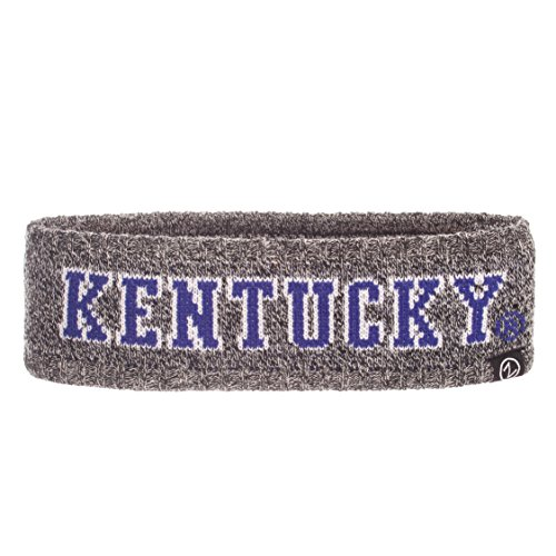 Adult Knit Headband - NCAA Kentucky Wildcats Adult Women Halo Haze Knit Headband, Adjustable, Heathered Charcoal