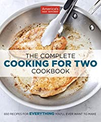 650 Recipes forEVERYTHINGYou'll Ever Want to Make.  Because smaller families shouldn't have to rely on recipes built for four or six, America's Test Kitchen has reengineered 650 of our best recipes to serve just two. Over the years we've di...