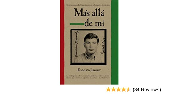 Mas alla de mi Reaching Out Spanish Edition by Francisco Jim?nez (2009-09-07): Francisco Jim?nez: Amazon.com: Books