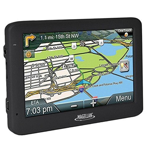 Magellan RoadMate 5625-LM 5.0 Touchscreen Portable GPS System w-North American Maps & Free Lifetime Map Updates by Magellan