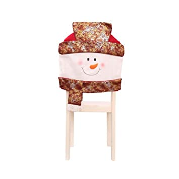Cupcinu Decoration De Noel Housse De Chaise Housse De Chaise Chapeau