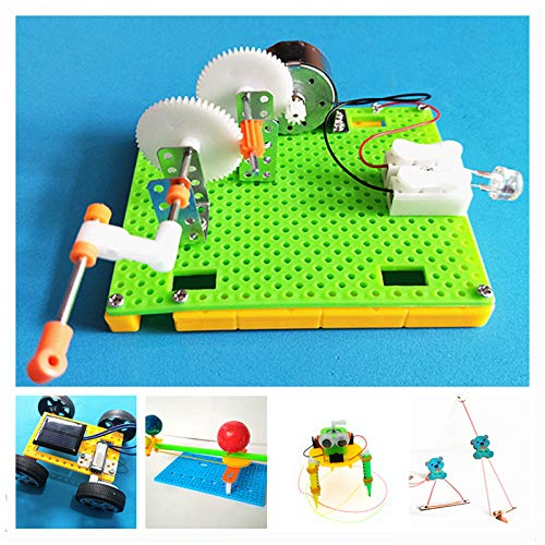 PyLios - 5 Sets DIY Physical Kids Science Experiments Kit School Projects Robot Assemble Creative Toys for Boys Educational[] by PyLios