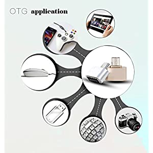 OTG Hug 2.0 Converter OTG Adapter Micro USB to USB Hub for Mini Android Gadget Phone Samsung Cable Card Reader Flash Drive OTG