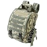 Extreme Pak Digital Camo Water-Resistant Heavy-Duty Tactical Backpack by B&F