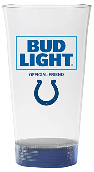 Bud Light Touchdown Glass, Clear