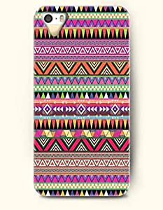 OOFIT Aztec Indian Chevron Zigzag Pattern Hard Case for Apple iPhone 4 4S Indian Aztect Tribal Pattern