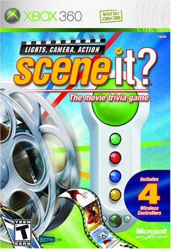 SceneIt Big Button GamePads Xbox 360