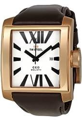 TW Steel Men's CE3008 CEO Goliath White Dial Watch