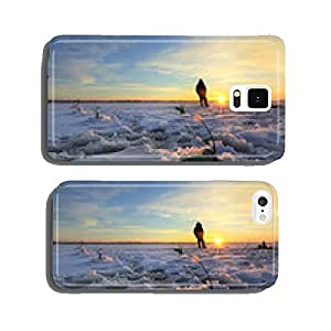 winter fishing cell phone cover case Samsung S6