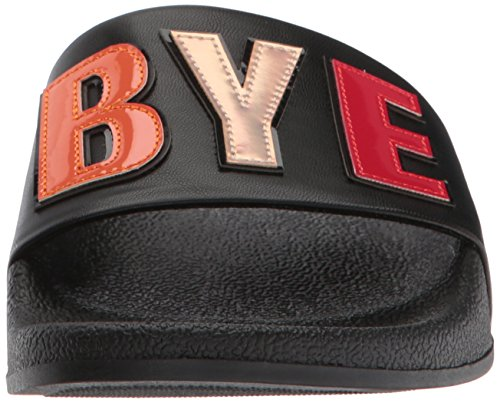 Slide black Flynn Sandal Women's Sam Bye Black Boy Circus bye boy Edelman by IvqnXHY6