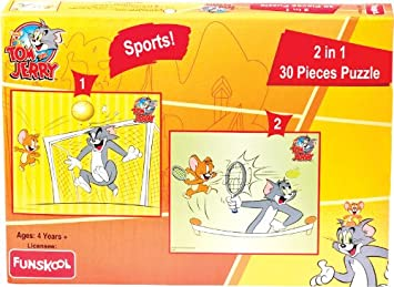 Funskool Tom and Jerry 2-in-1 Game
