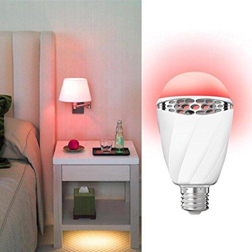 Poires de reconnaissance vocale E27LED intelligent justierbares Intensité variable Lumière Décoratif