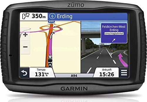 Garmin zumo 590LM EU Motorradnavigationsgerät (lebenslange Kartenupdates, Musiksteuerung, 12,7cm (5 Zoll) Touchscreen)