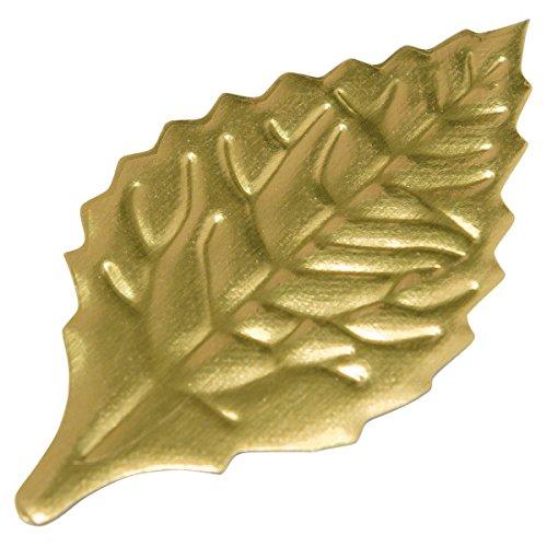 Foil Accent (Gold Foil Leaves 2-1/8