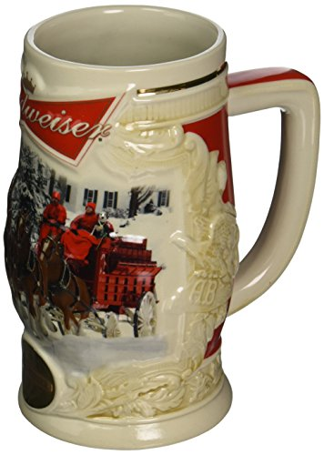 Budweiser 2014 Holiday Stein ()