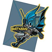 Batman Invitaciones Fiesta, Paquete de 6