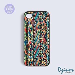 iPhone 6 Tough Case - 4.7 inch model - Vintage Aztec Pattern iPhone Cover