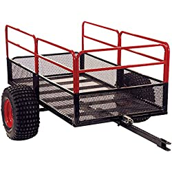 Yutrax TX158 Trail Warrior X2 ATV Utility Trailer - For Off-Road Use