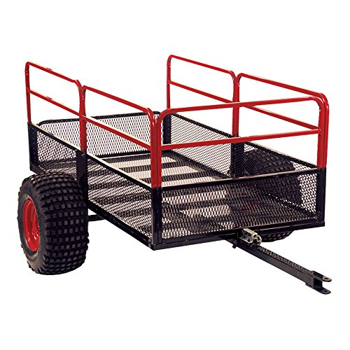 Yutrax Trail Warrior X2 Heavy Duty UTV/ATV Trailer - for Off-Road Use - 1,250 lb. -