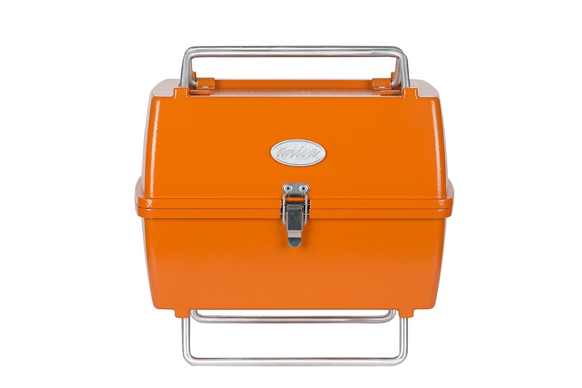 Aniwa (Stadt) PRTK 02 Tragbarer Holzkohlegrill – Orange