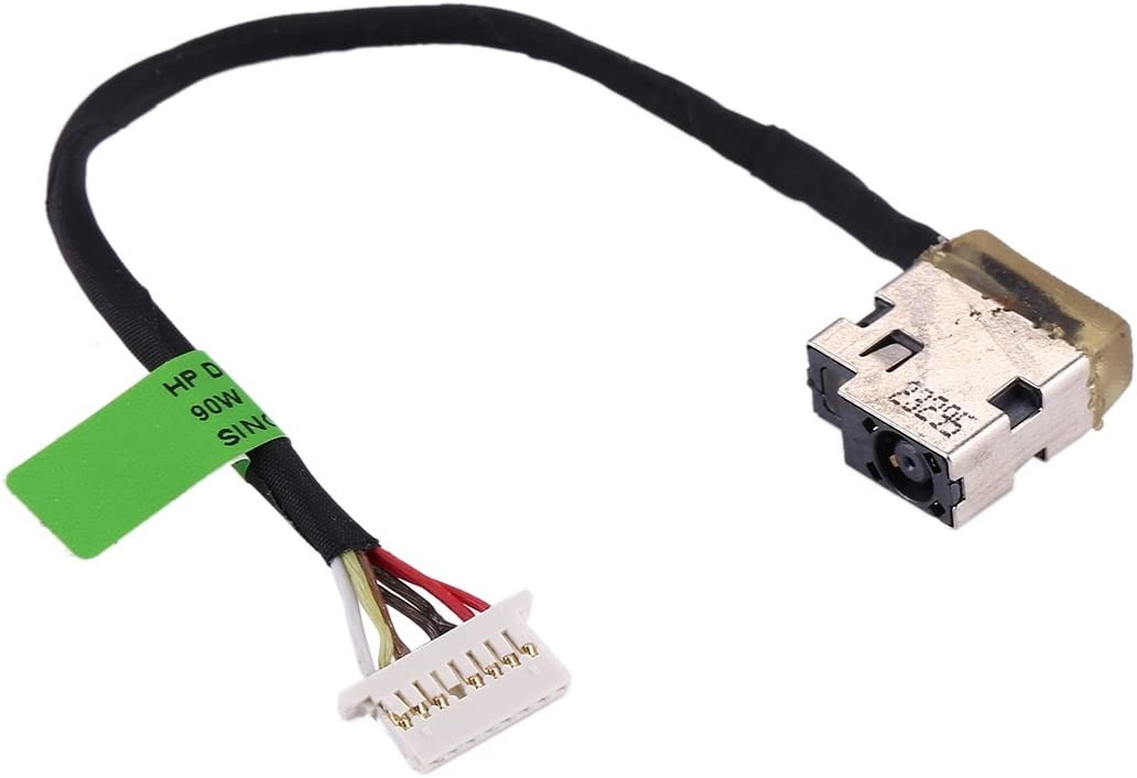 ICHIPS New Replacement DC Power Jack Connector Flex Cable for HP Pavilion 15//15-ac /& Envy 15//15-ae for Repair