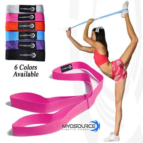Cheerleading Flexibility Stunt Strap From Myosource Kinetic Bands