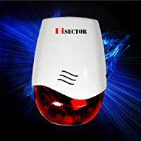 Pisector Wireless Flashing strobe indoor siren for All Pisector Alarm Systems
