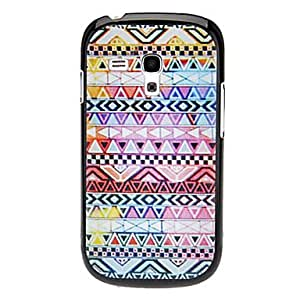 Nsaneoo - Triangle Woven Design Pattern Hard Case for Samsung Galaxy I8190