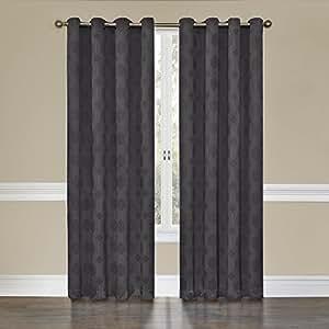 eclipse tatum grommet blackout curtain panel