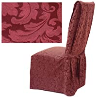 Damask Berry Dining Chair Covers Set of Four 587