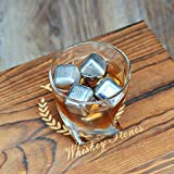 Whiskey Stones 8 PCS Metal Ice Cubes Stainless