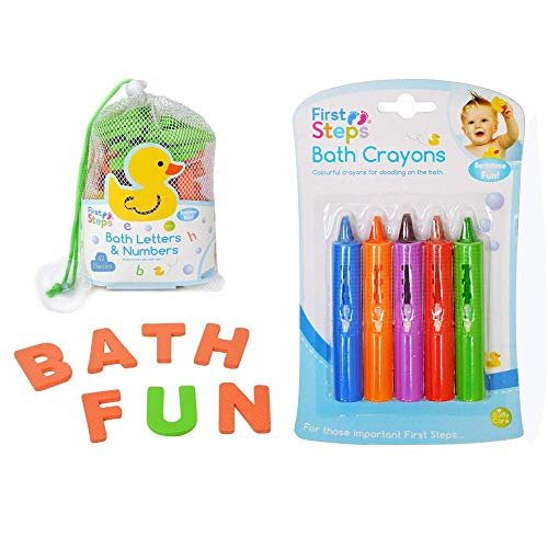 Bathtime Buddies Bath Crayons 5 Pack 3+