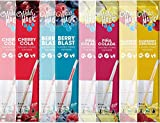 Water Magic, Variety Pack - 8 packs (2 packs each of Piña Colada, Raspberry Lemonade, Berry Blast, and Cherry Cola), from the Makers of Milk Magic
