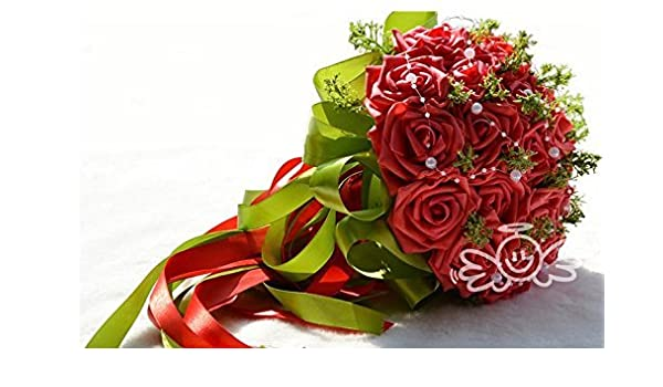 Amazon Western American Wedding Brides Toss Bouquet Bridesmaid