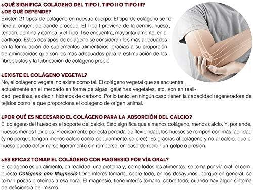 Ana Maria Lajusticia - Colágeno con magnesio y vit c – 350 gramos (sabor fresa) articulaciones fuertes y piel tersa. Regenerador de tejidos con ...