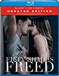 Cover Image for 'Fifty Shades Freed: Unrated Edition [Blu-ray + DVD + Digital]'