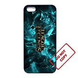 League of legends iphone 5/5s case Customized soft rubber white phone case,