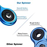 Fidget Spinner Metal, Aemotoy Tri Spinner 3- 5 Minutes Spin Time Finger Spinner Fidget Toys Metal Stainless Steel Bearing Hand Spinner for ADD ADHD Stress Reducer Relieves Anxiety Boredom Killing Time