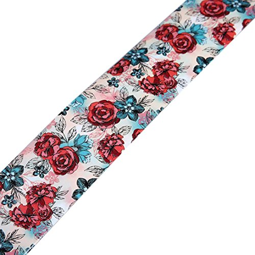 Aribelly 100CM Design Nail Art Foil Stickers Transfer Decal Tips Manicure