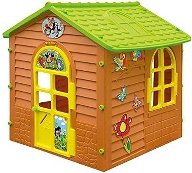 Moch Toys 5907442107548 XL Casa de Juguete Topo de jardín hogar Niños casa de Juguete: Amazon.es: Juguetes y juegos