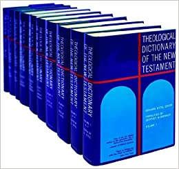 Theological Dictionary of the New Testament 10-vol set
