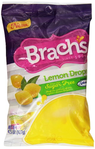 Brach's Lemon Drops Sugar Free Candy 12 packs (4.5 oz per pack) Lemon Drop Calories