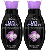 Downy Unstopables Premium Scent Booster with Fabric Conditioner, Lush, 20 Fluid Ounce (Pack of 2)
